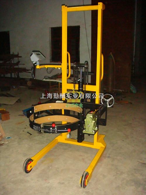 200kg自动倒油车秤,搬运油桶秤,上海电子油桶秤