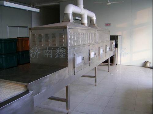 豆角微波烘干杀菌设备/杀菌干燥机/鑫弘微波