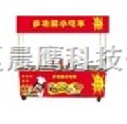 河南新鄉四功能自動燒烤小吃車