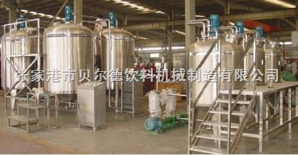 果汁茶饮料生产线前调配设备