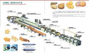 酥性韧性饼干生产线/糖果生产线/曲奇饼干生产线/中西糕点生产线/糕点生产线