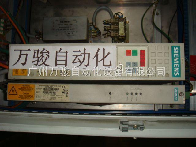 西门子6SE70伺服驱动器维修