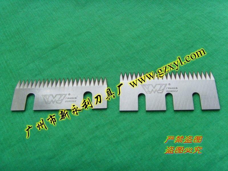 供应塑料袋包装机械齿形刀片