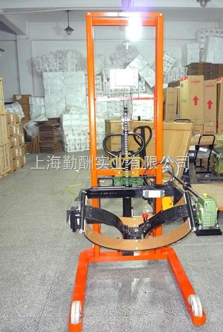 YCS液压油桶秤,北京倒桶秤,电子油桶秤