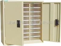 A4M-327D-2(27抽)带门带锁样品柜工厂样品柜-样板保存柜