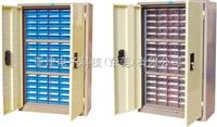 75抽带门元件柜-S2515-1(-2)75抽带门带锁元器件柜电子元器件柜