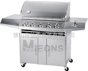 5炉头 不锈钢煤气烧烤炉 别墅户外烧烤炉 户外BBQ烧烤炉