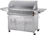 6炉头 BBQ烧烤炉 户外燃气烧烤炉 瓦斯烧烤炉 红外线烧烤炉