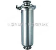 卫生级不锈钢管道过滤器、快装过滤器
