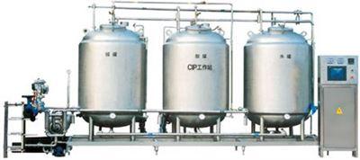 蒸汽加熱CIP清洗系統