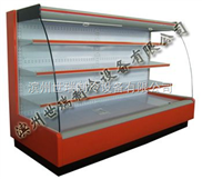 FMG-E-弧形风幕柜-超市冷藏柜-水果展示柜