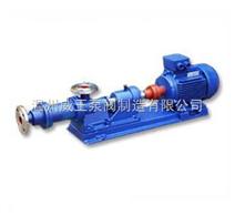 化工泵 螺桿式化工泵 I-1B型不銹鋼螺桿式濃槳化工泵