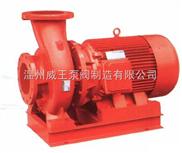 XBD-W卧式单级单吸消防喷淋泵生产厂家,价格,结构图