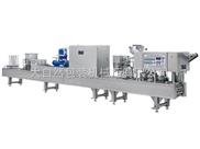CFD-8全自动两色果冻灌装封口机