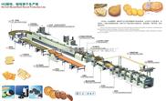 多功能饼干生产线/撒糖机喷油机理饼机饼干烤箱、成型机包装台冷却线/饼干机械系列