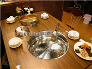 雪鍋無煙燒烤爐,特色燒烤爐自助燒烤設備直銷