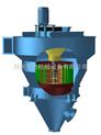 供应:高岭土气流分级机、碳酸钙气流分级机、分级机