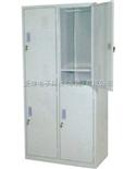 4门钢制更衣柜防尘更衣柜,防潮车间更衣柜