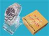 (双日历不锈钢)石英手表近电报警器