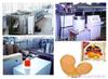 小芝麻煎饼成套设备生产线